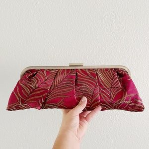 BOSSY CAT || Japanese Tapestry Fabric Clutch